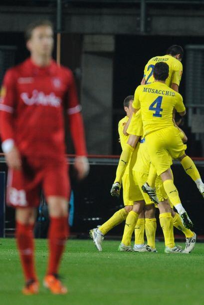 Al final, el Villarreal se impuso por 3-1, para un global de 8-2.