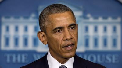 Obama presiona a Putin para que coopere con la investigación del avión d...