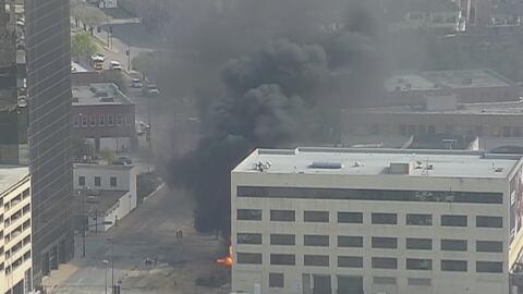 Fuga de gas provoca explosión en un edificio dejando dos personas lesion...