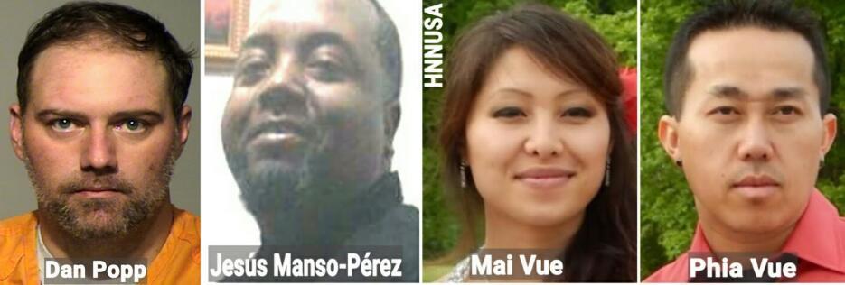 Un puertorriqueño y una pareja asiática resultaron muertos luego que Dan...