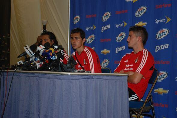 El primero en hablar fue Paul Aguilar, nuevo jugador del América.