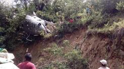 El helicóptero de la Procuraduría General de la República de México (PGR...