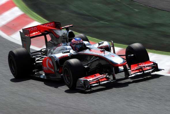 El actual campeón, Jenson Button, aseguró puntos para segu...