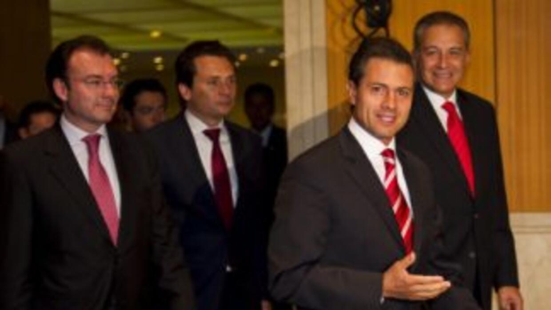 El candidato del PRI a la Presidencia de México, Enrique Peña Nieto.