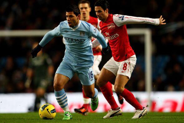 El duelo de la jornada fue disputado por Manchester City y Arsenal.