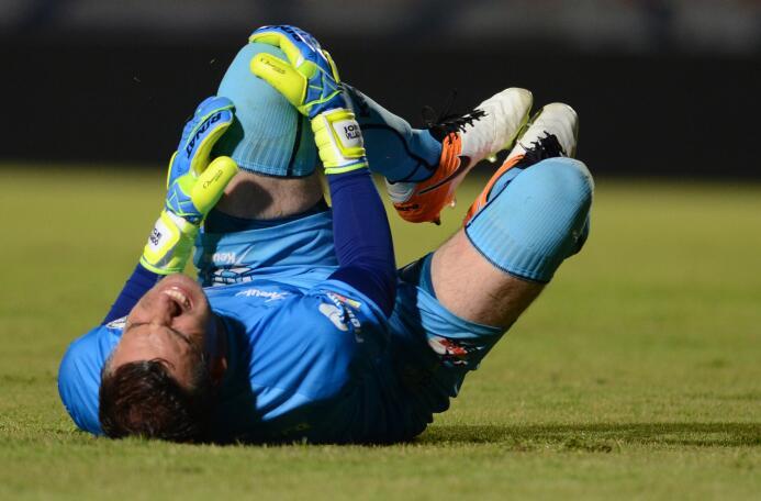 Jorge Villalpando, quien volvía a jugar tras más de un año, también fue...