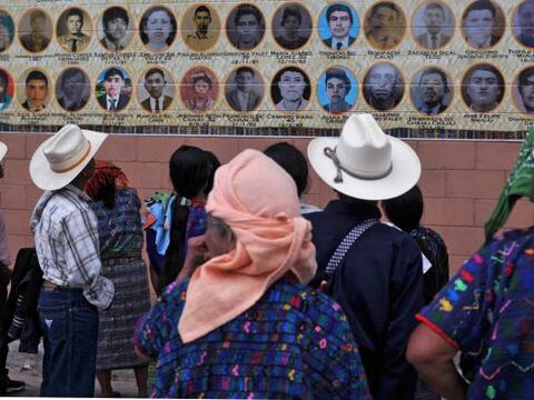 El pueblo índigena de Ribanal al norte de Guatemala, se inaugur&o...