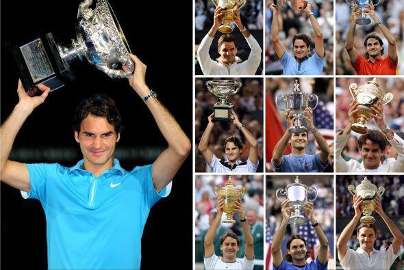 ¡16 Grand Slams conforman su palmarés!
