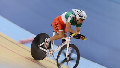 Bahman Golbarnezhad, el ciclista paralímpico iraní que falleció en Río