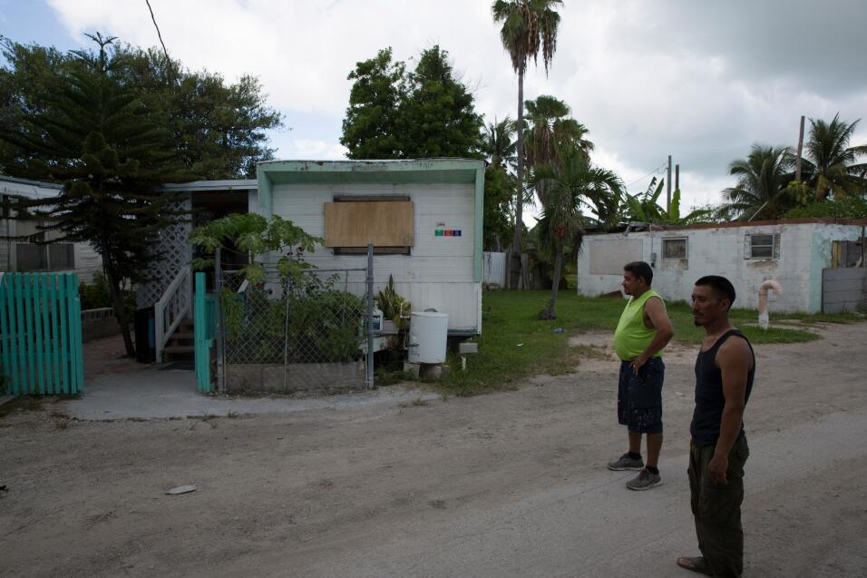 Jorge Goff y José López, que llegaron hace unos años a Key West, analiza...