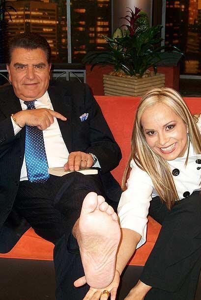 Georgette Rivera es una experta en leer la planta del pie.