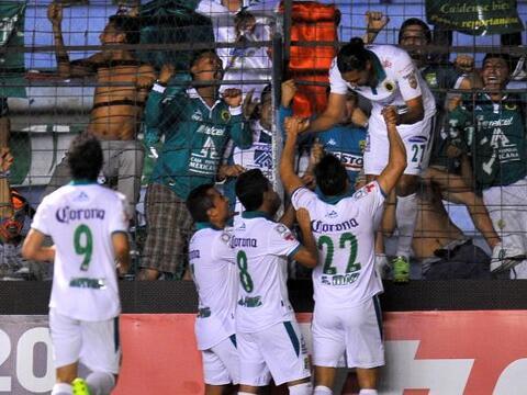 Los 'Panzas Verdes' en ese momento empataban el partido y se hací...