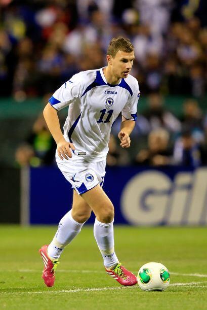 Edin Dzeko:El jugador de Bosnia Herzegovina es el mayor referente de su...