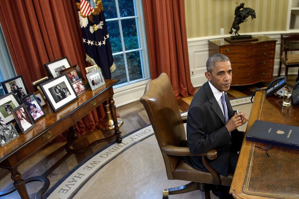 Oval Office Obama