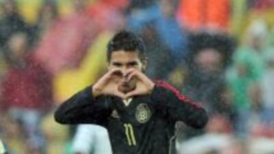 El mexicano espera seguir progresando en su juego con el Sabadell para a...
