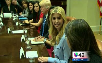 Empresarias hispanas se reúnen con Ivanka Trump para discutir los retos...