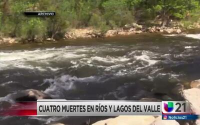 Cuatro muertes en ríos y lagos del valle