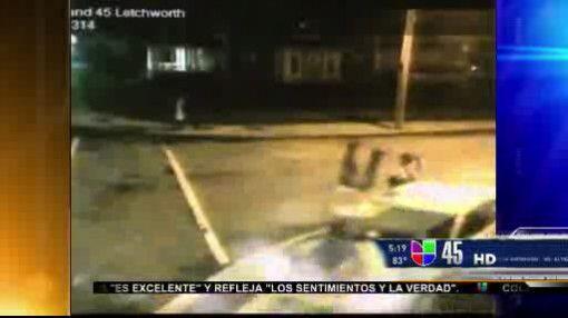 Captado en video: Adolescente fue atropellado