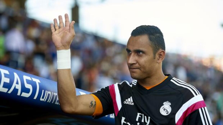 El portero costarricense jugará de inicio en la Liga dos meses después.