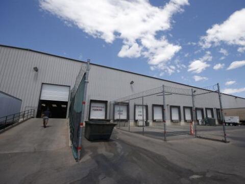 Este es el U.S. Customs and Border Protection Placement Center en Nogale...