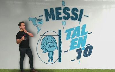 Biografía ilustrada: lo más destacado de la carrera de Lionel Messi