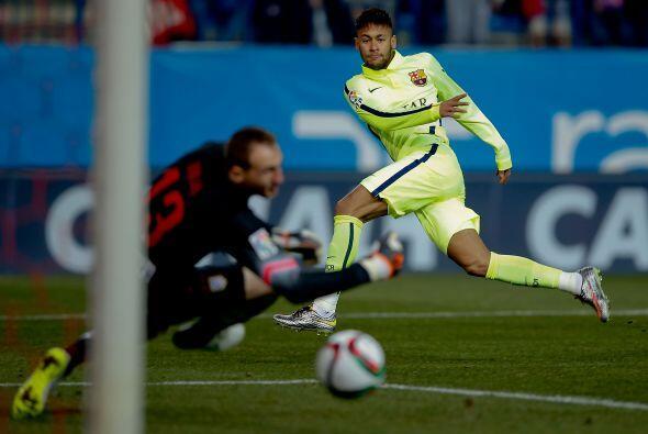 Pero tampoco pasó mucho para que el Barcelona pusiera orden y le...