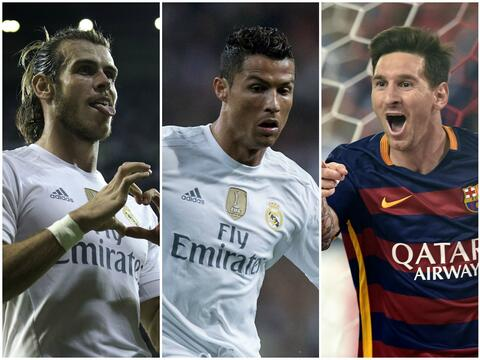 Protagonistas Real Madrid-Barcelona