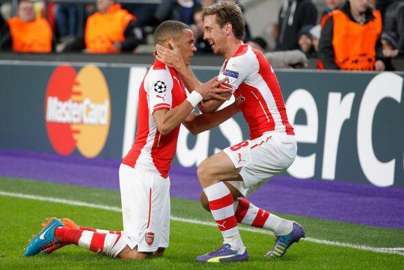 El Arsenal vinó de atrás y se llevó la victoria sob...