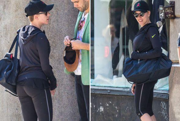 Scarlett Johansson y su prometido Romain Dauriac parece que quieren la p...