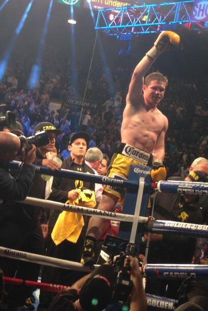 Desde luego, el ganador de la pelea fue el 'Canelo' Álvarez.