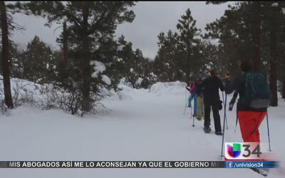"""""""El Niño"""" provoca nevadas"""