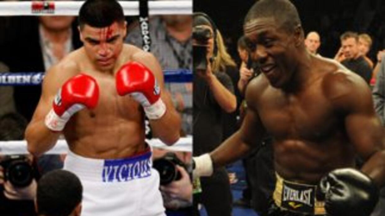 Victor Ortíz y Andre Berto están listos para combatir por el título weñt...
