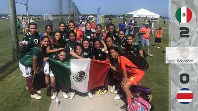 Tri femenil Sub-15 avanza a la final de Torneo de Concacaf; enfrentará a Estados Unidos