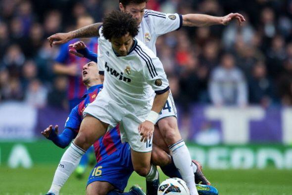 Marcelo, recuperado, volvió a la alineación del Madrid.