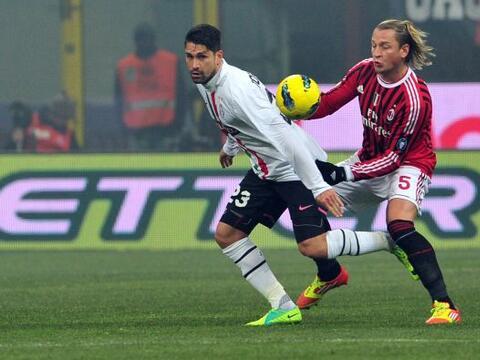 Milan y Juventus se enfrentaron en el primer partido correspondiente a l...