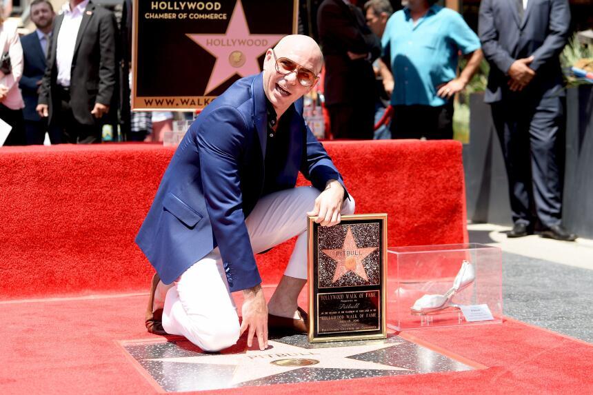 La estrella de Armando Christian Pérez está en la cuadra de Celia Cruz.