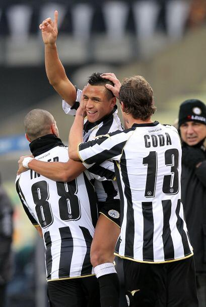 Y más tarde, Antonio Di Natale consiguió el 2-0 final.