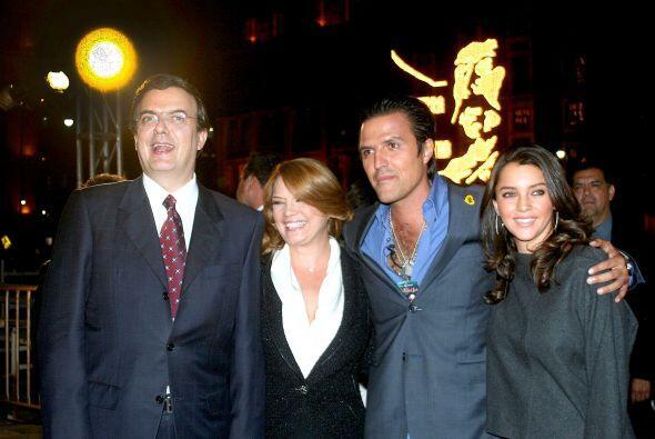 El alcalde de la Ciudad de México, Marcelo Ebrard Casaubón contrajó nupc...