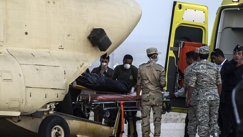 Comenzaron a llegar los cadáveres a El Cairo.