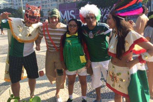 Mexicanos unidos.