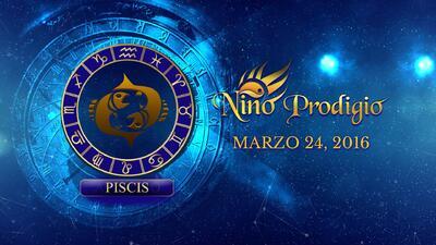 Niño Prodigio - Piscis 24 de marzo, 2016