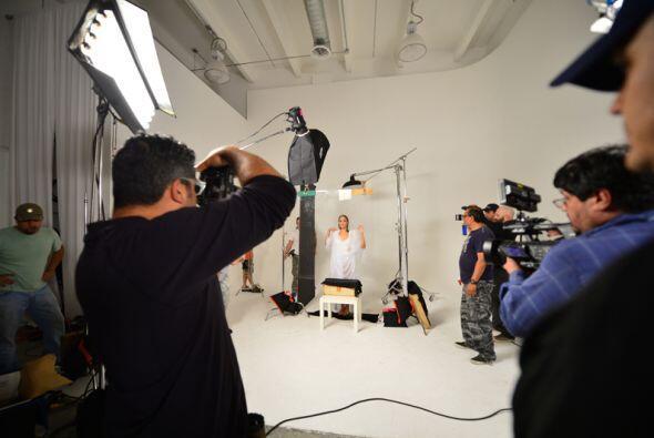 Ya las viste en la sensual sesión de fotos de '50 Shades of Grey'...