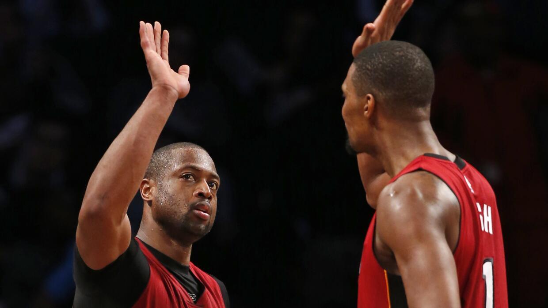 Miami Heat se impuso sobre los Brooklyn Nets 102-98