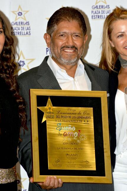 Emilio Osorio plasmó sus huellas
