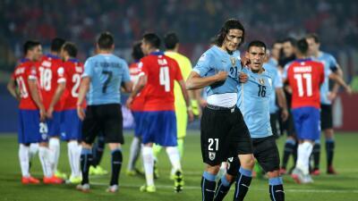 Cavani no juega desde la bronca en Chile.