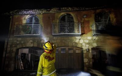 Mansión quemada en california