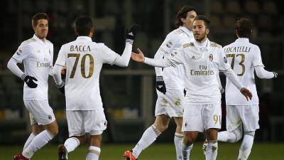 Milan empata a dos con Torino y sigue quinto en Italia