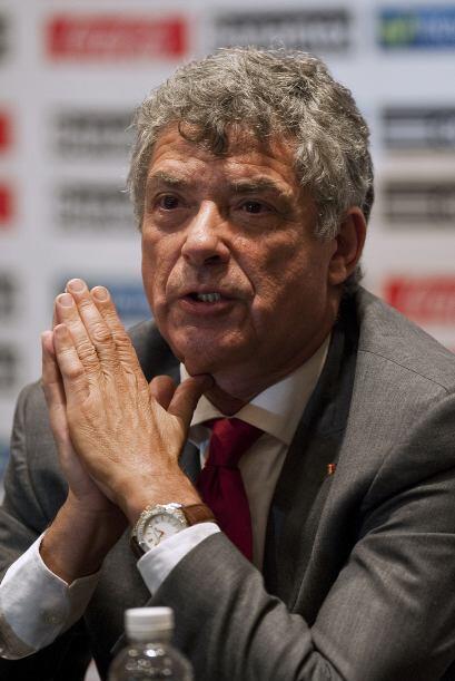 El español Ángel María Villar es Presidente de la Real Federación Españo...