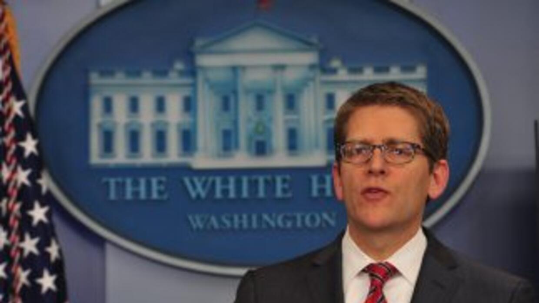 Jay Carney, vocero de la Casa Blanca dijo que el gobierno está abierto a...