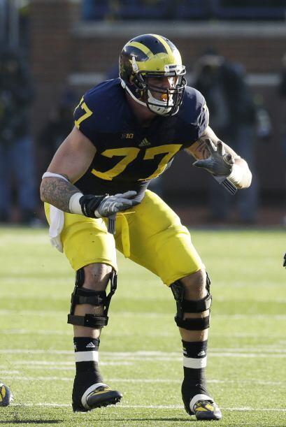 11. Taylor Lewan, OT, Michigan (AP-NFL).